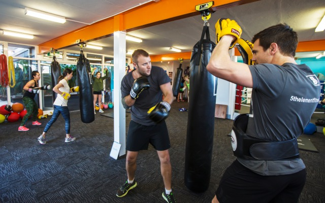 Group boxing class in Perth