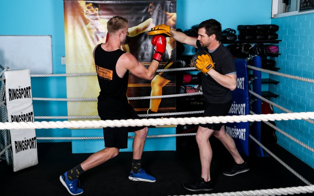 Boxing class in Perth