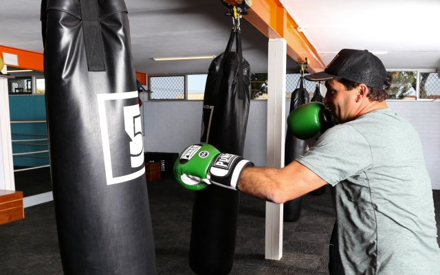 Personal boxing trainer Perth