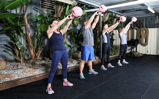 Group workout Perth