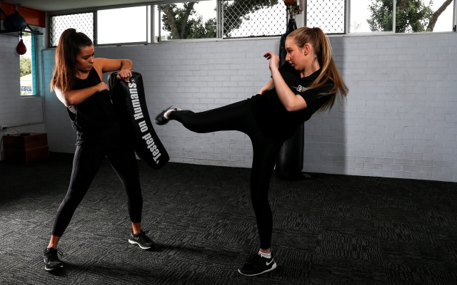Kick boxing training Perth