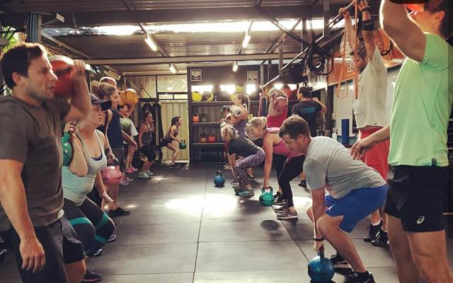 Group cross fit training Perth