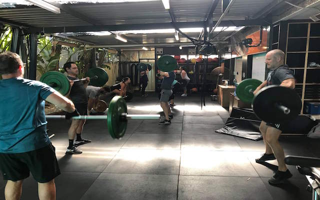weight lifting based class perth